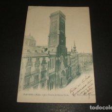 Postales: MADRID TORRE DE SANTA CRUZ. Lote 128160415