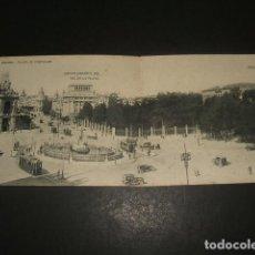 Postales: MADRID POSTAL DOBLE PLAZA DE CASTELAR. Lote 128308551