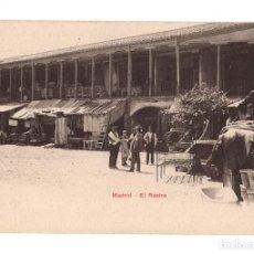 Postales: MADRID.- EL RASTRO. EDICIONES P. Z. 10780. Lote 128392147