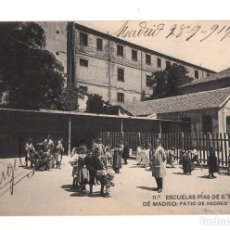 Postales: MADRID.- ESCUELAS PIAS DE S. FERNANDO DE MADRID PATIO DE RECREO Y GIMNASIO. Lote 128566171
