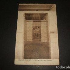 Postales: MADRID ESCUELA DE LA FLORIDA BAÑOS Y DUCHAS. Lote 128676459