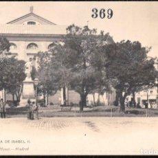 Postales: POSTALES - MADRID. PLAZA DE ISABEL II.. Lote 128689431