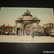 Postales: MADRID PUERTA DE TOLEDO. Lote 128730447