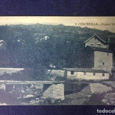 Postales: POSTAL ANTIGUA CERCEDILLA PUENTE VERDE 8 ED BAZAR DE CERCEDILLA NO ESCRITA NI CIRCULADA. Lote 128865003