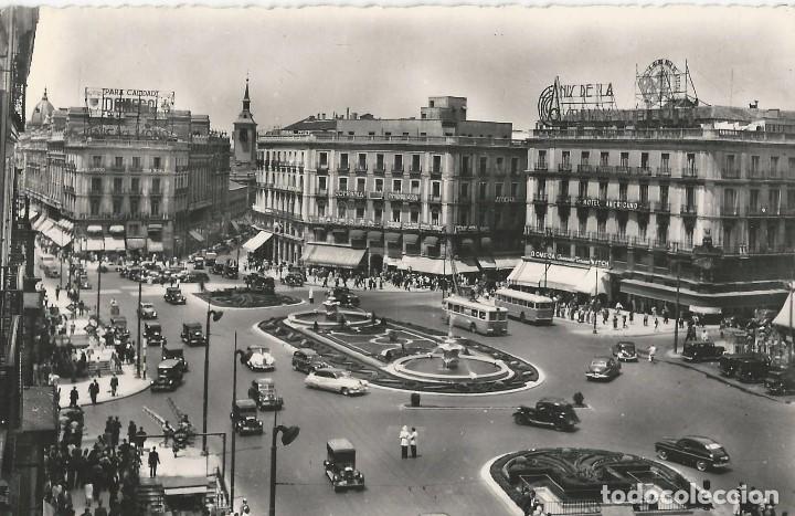 Postales: LOTE 7 POSTALES ANTIGUAS - MADRID- CIRCULADAS - ESPAÑA - - Foto 2 - 129308507