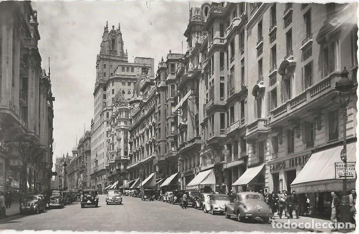 Postales: LOTE 7 POSTALES ANTIGUAS - MADRID- CIRCULADAS - ESPAÑA - - Foto 3 - 129308507