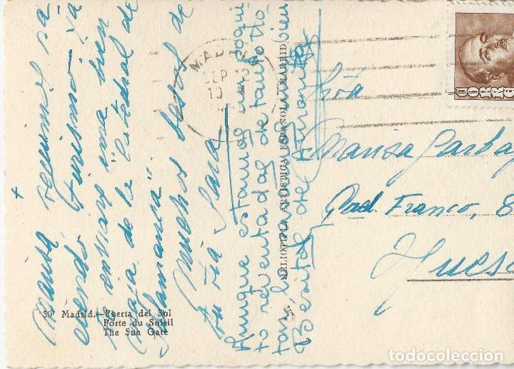 Postales: LOTE 7 POSTALES ANTIGUAS - MADRID- CIRCULADAS - ESPAÑA - - Foto 9 - 129308507