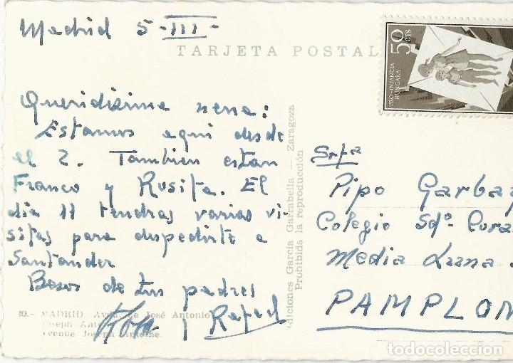 Postales: LOTE 7 POSTALES ANTIGUAS - MADRID- CIRCULADAS - ESPAÑA - - Foto 10 - 129308507