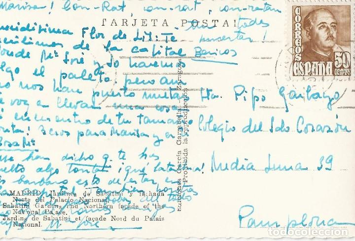Postales: LOTE 7 POSTALES ANTIGUAS - MADRID- CIRCULADAS - ESPAÑA - - Foto 12 - 129308507