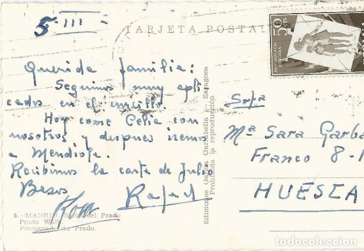 Postales: LOTE 7 POSTALES ANTIGUAS - MADRID- CIRCULADAS - ESPAÑA - - Foto 13 - 129308507