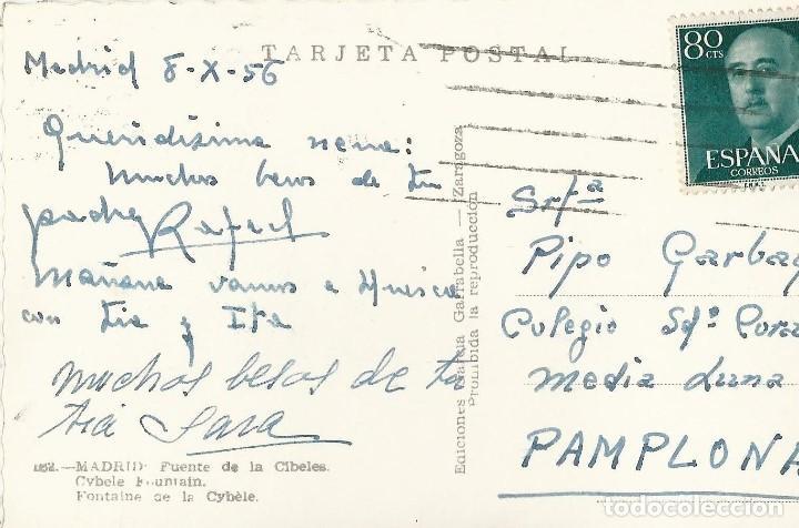 Postales: LOTE 7 POSTALES ANTIGUAS - MADRID- CIRCULADAS - ESPAÑA - - Foto 14 - 129308507