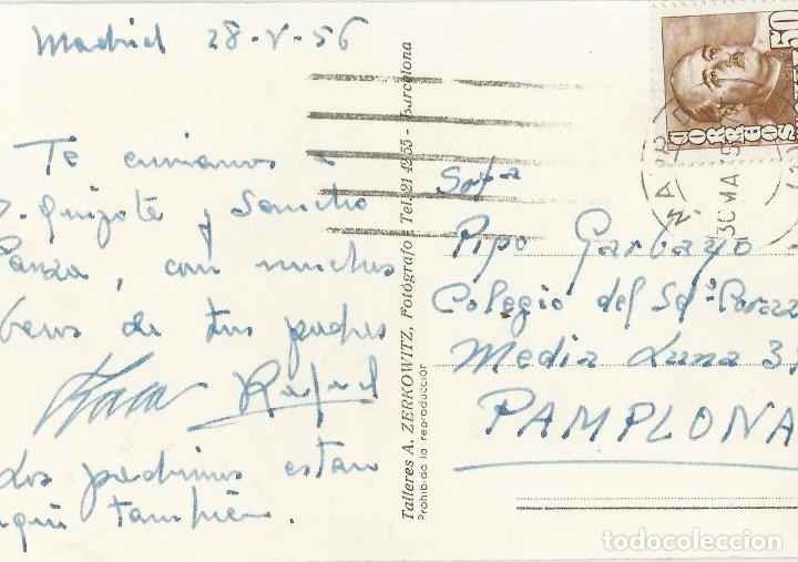 Postales: LOTE 7 POSTALES ANTIGUAS - MADRID- CIRCULADAS - ESPAÑA - - Foto 15 - 129308507