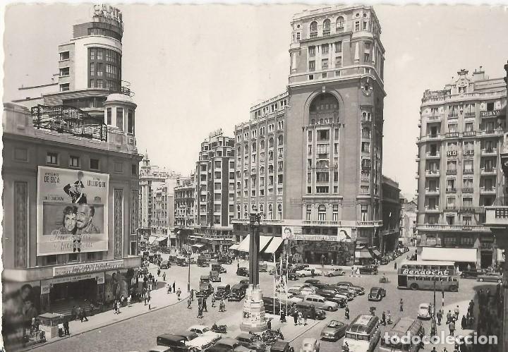 Postales: LOTE 4 POSTALES ANTIGUAS - MADRID - CIRCULADAS - ESPAÑA - - Foto 2 - 129308711