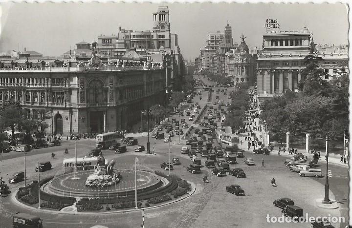 Postales: LOTE 4 POSTALES ANTIGUAS - MADRID - CIRCULADAS - ESPAÑA - - Foto 4 - 129308711