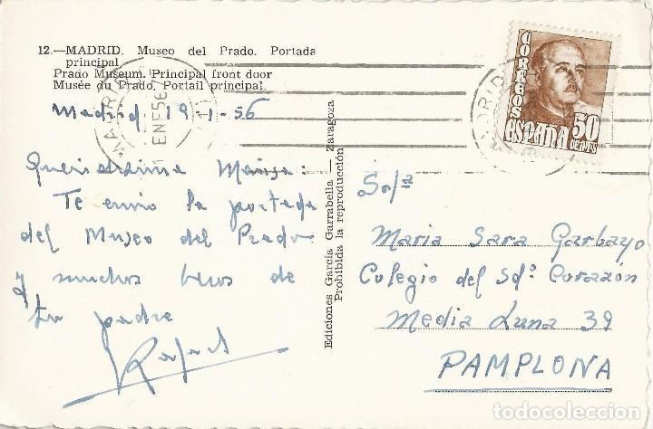 Postales: LOTE 4 POSTALES ANTIGUAS - MADRID - CIRCULADAS - ESPAÑA - - Foto 5 - 129308711