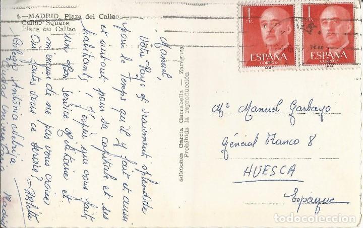Postales: LOTE 4 POSTALES ANTIGUAS - MADRID - CIRCULADAS - ESPAÑA - - Foto 6 - 129308711