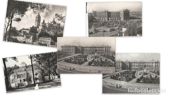 Postales: LOTE 5 POSTALES ANTIGUAS - NO CIRCULADAS - MADRID - ESPAÑA - - Foto 6 - 129309115