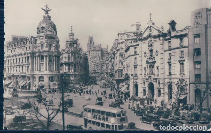 POSTAL MADRID 7 - VISTA PARCIAL - DOMINGUEZ - CIRCULADA (Postales - España - Comunidad de Madrid Antigua (hasta 1939))