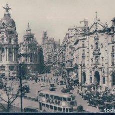 Postales: POSTAL MADRID 7 - VISTA PARCIAL - DOMINGUEZ - CIRCULADA. Lote 129666523