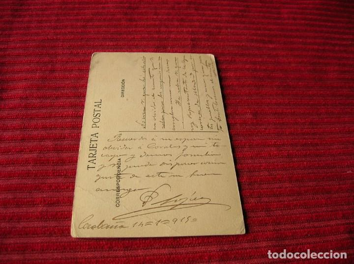 Postales: muy antigua postal de Madrid .Vista parcial - Foto 3 - 130562746