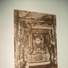 Postales: MADRID PALACIO REAL SALON DEL TRONO RELOJ DE PORCELANA Y BRONCE. Lote 131060736
