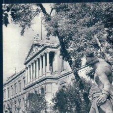 Postales: POSTAL MADRID 27 - BIBLIOTECA NACIONAL - H A E . Lote 131101776
