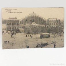 Postales: MADRID, ESTACIÓN DEL MEDIODÍA HAUSER Y MENET, NO CIRCULADA MANUSCRITA FECHADA 18 DE OCTUBRE DE 1911. Lote 131132484