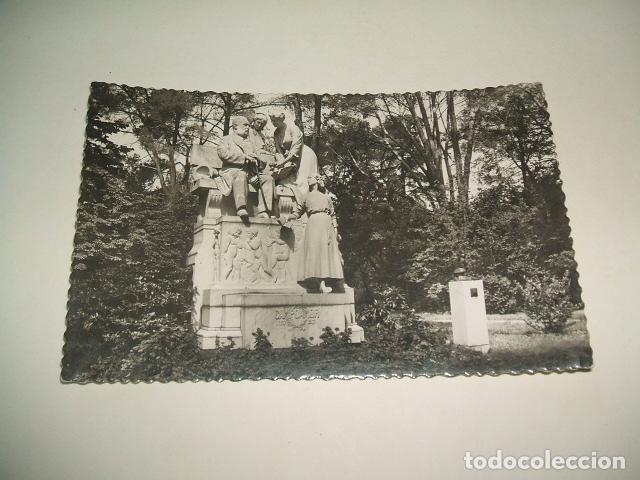 MADRID PARQUE DEL RETIRO MONUMENTO A CAMPOAMOR (Postales - España - Comunidad de Madrid Antigua (hasta 1939))