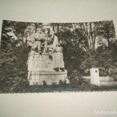 Postales: MADRID PARQUE DEL RETIRO MONUMENTO A CAMPOAMOR. Lote 131487374