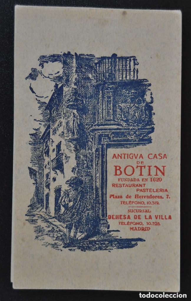 Madrid Antigua Casa De Botin Block Con 12 P Comprar Postales