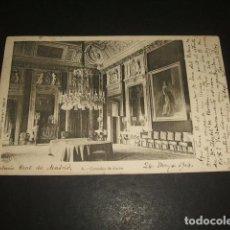 Cartes Postales: MADRID PALACIO REAL COMEDOR DE DIARIO COLECCION CANOVAS REVERSO SIN DIVIDIR . Lote 131865286
