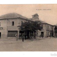 Postales: VILLALBA - MADRID.- FONDA CASA CUESTA.. Lote 131951466
