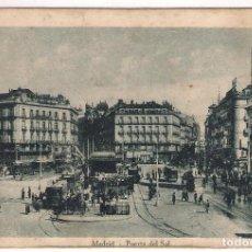 Postales: POSTAL ANTIGUA DE MADRID: PUERTA DEL SOL. Lote 132030258