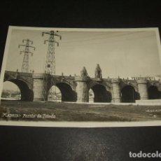 Postales - MADRID PUENTE DE TOLEDO POSTAL FOTOGRAFICA COL. ALSINA - 132181642