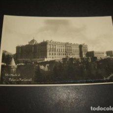 Postales: MADRID PALACIO NACIONAL. Lote 132267754