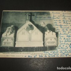 Postales: EL ESCORIAL MADRID SEPULCRO DE LOS DUQUES DE MONTPENSIER. Lote 132426058
