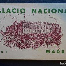 Postales: CARPETA DE 20 POSTALES DEL PALACIO NACIONAL DE MADRID. AÑOS 30 DE HAUSE Y MENET. Lote 132567366