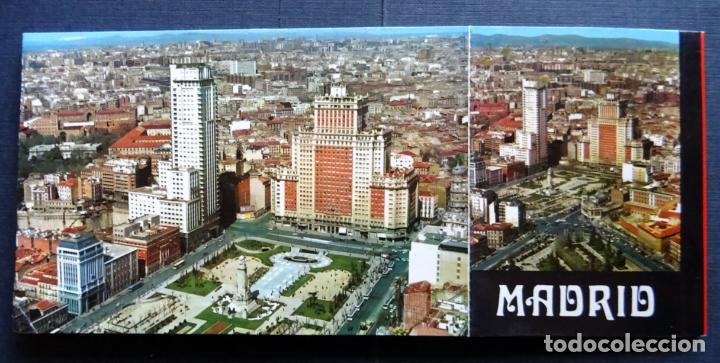 Postales: Recuerdo de Madrid , carpeta con 10 postales grandes y 10 pequeñas. Ver fotos - Foto 2 - 132568266