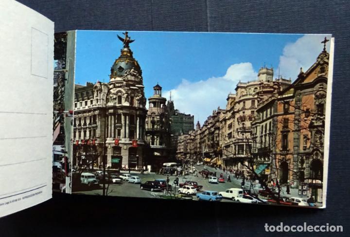 Postales: Recuerdo de Madrid , carpeta con 10 postales grandes y 10 pequeñas. Ver fotos - Foto 3 - 132568266