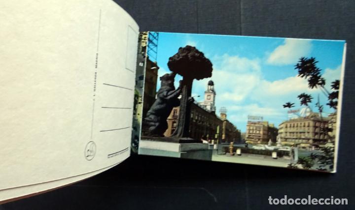 Postales: Recuerdo de Madrid , carpeta con 10 postales grandes y 10 pequeñas. Ver fotos - Foto 5 - 132568266