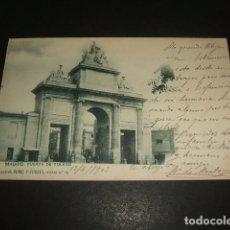 Postales: MADRID PUERTA DE TOLEDO. Lote 132574006