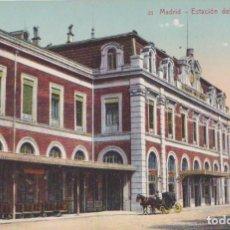Postales: MADRID - ESTACION DEL NORTE. Lote 132756962