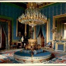 Postales: MADRID – PALACIO REAL – ANTECAMARA GASPARINI - FOURNIER - PATRIMONIO NACIONAL – 1958 – COLORADA - SC. Lote 132934894