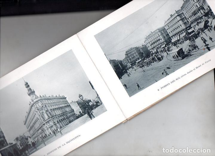 RECUERDO DE MADRID - 25 VISTAS C. 1890 CASA MENDOZA FORMATO 14X20 CM. (Postales - España - Comunidad de Madrid Antigua (hasta 1939))