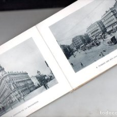 Postales: RECUERDO DE MADRID - 25 VISTAS C. 1890 CASA MENDOZA FORMATO 14X20 CM.. Lote 132963330