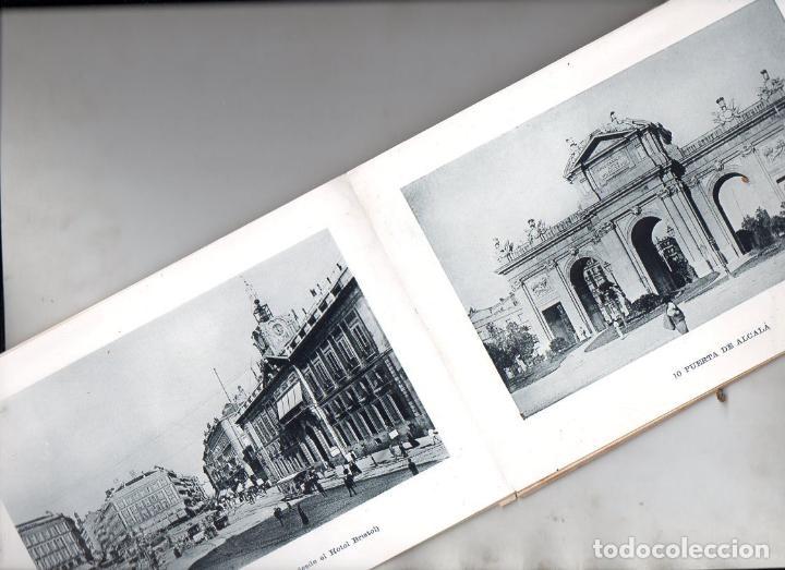 Postales: RECUERDO DE MADRID - 25 VISTAS c. 1890 CASA MENDOZA FORMATO 14X20 cm. - Foto 2 - 132963330