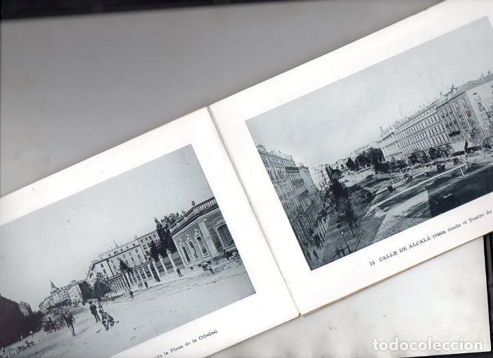 Postales: RECUERDO DE MADRID - 25 VISTAS c. 1890 CASA MENDOZA FORMATO 14X20 cm. - Foto 3 - 132963330