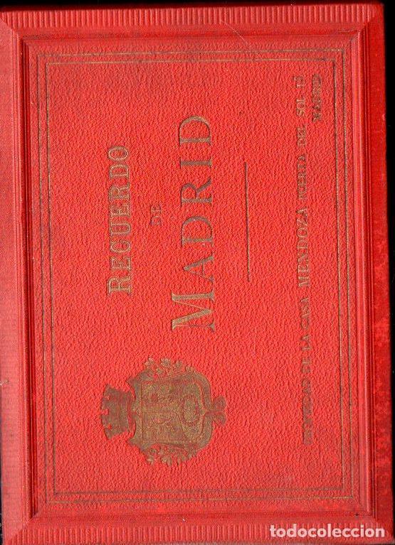 Postales: RECUERDO DE MADRID - 25 VISTAS c. 1890 CASA MENDOZA FORMATO 14X20 cm. - Foto 4 - 132963330