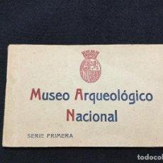 Postales: MUSEO ARQUEOLÓGICO NACIONAL. BLOC CON 20 POSTALES SERIE 1RA. FOTOTIPIA HAUSER Y MENET.. Lote 132981590