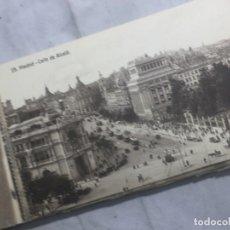 Postales: POSTALES ANTIGUAS MADRID BLOCK EXTRA SERIE TERCERA 12 POSTALES. Lote 133406686